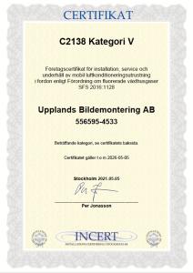 ac service certifikat